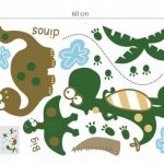 Walplus Set de stickers muraux Motif dinosaures Grand format de la marque WALPLUS image 3 produit