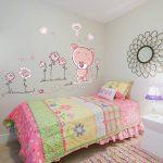Walplus Stickers muraux pour chambre de bébé Ours en peluche Rose de la marque WALPLUS image 1 produit
