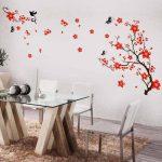 Walplus Stickers muraux style cerisier en fleurs et papillons de la marque WALPLUS image 2 produit