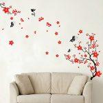 Walplus Stickers muraux style cerisier en fleurs et papillons de la marque WALPLUS image 3 produit