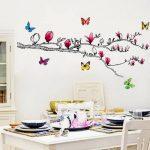 Walpus Stickers muraux pour chambre d'enfant Magnolia/papillons brillants en 3D de la marque WALPLUS image 2 produit