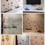 WandSticker4U- Sticker mural Chambre d'enfant Monde sousmarin Eau de Aquarium Poissons Mer | 130x42 cm | Stickers muraux pour Carrelage Autocollant Salle de Bain de la marque WandSticker4U image 4 produit