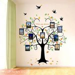 Wandsticker4u - Sticker mural riesiger photo arbre - Effet image: 160 x 240 cm - Sticker mural Cadre Photo Famille autocollant mural arbre décoration pour salon, cuisine, Porte-manteau, couloir XXL de la marque WandSticker4U image 4 produit