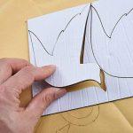 Warmcasa Stickers Autocollants Muraux 3D en Acrylique Arbre avec des Branches Incurvées et des Cadres de Photo et des Oiseaux (L, Vert vers Gauche) de la marque Warmcasa image 3 produit