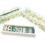 Washi Tape Boîte cadeau sur le thème Ensemble des Impressions avec stickers assortis Plant cactus de la marque Free Speech image 1 produit