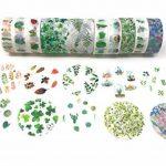 Washi Tape Boîte cadeau sur le thème Ensemble des Impressions avec stickers assortis Plant cactus de la marque Free Speech image 2 produit