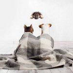 Winston & Bear Autocollants Chiens Muraux 3D - Paquet de 2 - Autocollants Décoratifs Drole – Chien Stickers Mignon Berger Allemand Pour Mur - Frigo - Toilette - Salle - Voiture - Réfrigérateur de la marque Winston & Bear image 2 produit