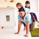 Winston & Bear Autocollants Chiens Muraux 3D - Paquet de 2 - Autocollants Décoratifs Drole – Chien Stickers Yorkshire Terrier Pour Mur - Frigo - Toilette - Salle - Voiture - Réfrigérateur de la marque Winston & Bear image 1 produit