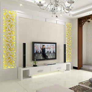 zhenfa 3D Miroir Grande Taille Mur Autocollant Vie Hostel entrée Fond décoratif Mur Miroir 3D stéréoscopique jaclico Remove FR Stickers muraux environnementales de la marque zhenfa image 0 produit