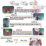 ZHUWall Héron Oiseau Branches D'Arbres De Style Asiatique Vinyle Sticker Décor À La Maison Art Mural Amovible Stickers Muraux 58X60 Cm de la marque ZHUWall image 2 produit